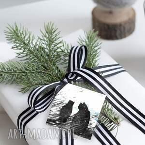 pomysł na upominek bileciki na świąteczne prezenty
