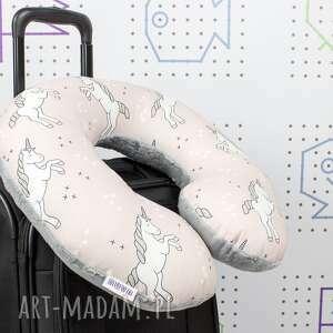 efektowne poduszka podróżna rogal, zagłówek - rozmiar