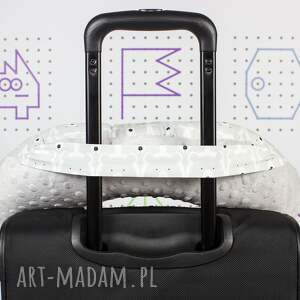 hand-made akcesoria samochodowa poduszka podróżna miśki