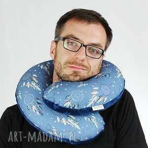 haft poduszka podróżna