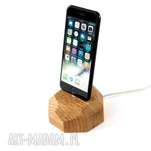 dusza brązowe stacja do telefonu - iphone dock