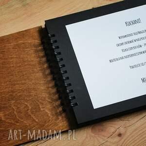 eleganckie albumy drewno album na zdjęcia do samodzielnego