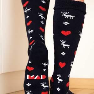 pomysł na prezenty święta skarpetki ciepłe mad socks kolorowe