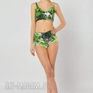 Milita Nikonorov handmade bielizna top dżungla - top