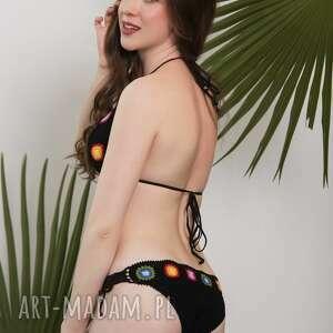 bielizna bikini kostium kąpielowy szydełkowy miami