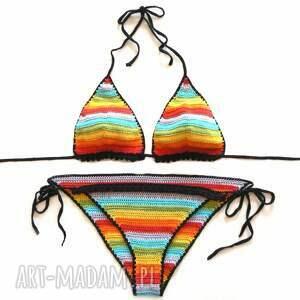 kostium tęczowe bikini