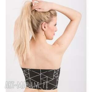 bielizna top triangle bandeau black - top