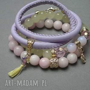 różowe biżuteria rzemień lemonade vol. 6 /09 -02 -18/ set