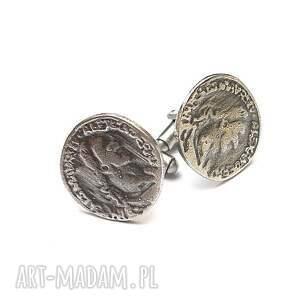 hand made biżuteria monety - spinki do mankietów