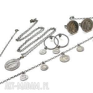 biżuteria spinki monety - do mankietów
