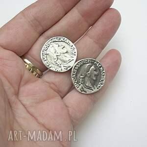 spinki biżuteria monety - do mankietów