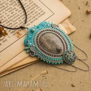 kwarc biżuteria wisior naszyjnik sutasz w stylu