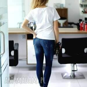 białe bluzki koszulka biała fajna modna t shirt