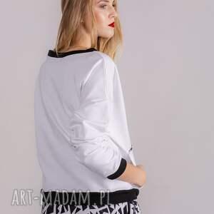eleganckie bluzki bluza basic fresh white