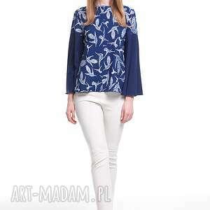 niebieskie bluzki moda bluzka afar