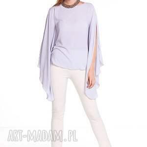 wyjątkowe bluzki moda bluzka aleksandra - szara