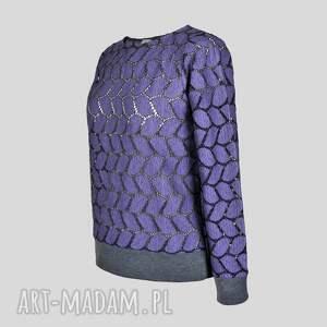unikalne bluzki bluzka ażurowa intonaco viola