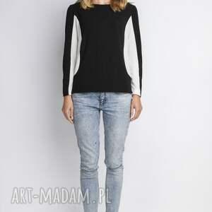 ręcznie robione shirt bluzka, blu108 czarny