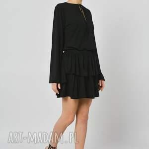 niekonwencjonalne bluzki wiązana bluzka - czarnooka zuzanna