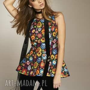 bluzki bluzkawkwiaty bluzka danuta 4644