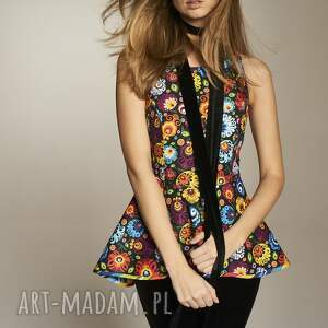 niepowtarzalne bluzki bluzkazbaskinką bluzka danuta 4644