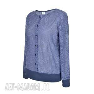 niekonwencjonalne bluzki bluza bluzka rozpinana mozaika