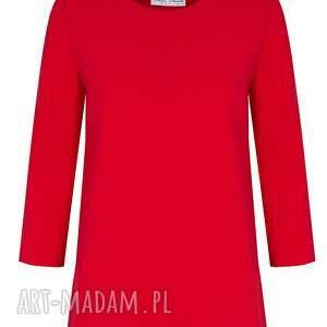 bluzki elagancka bluzka sangria czerwona