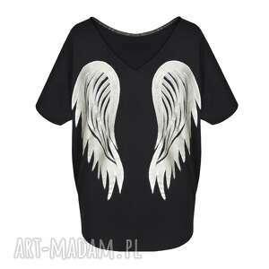 czarne bluzki skrzydła bluzka | black angel