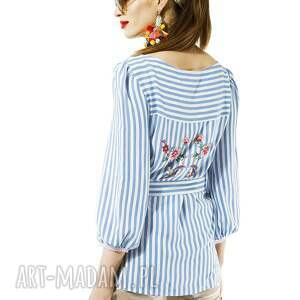 hand-made bluzki bluzka w paski amore