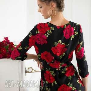 bluzki bluzka w róże