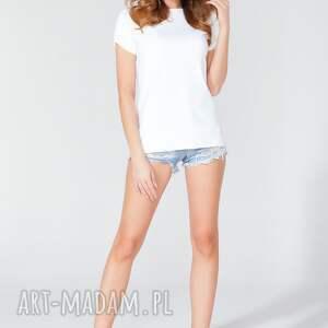 TESSITA bluzki: bluzka z odkrytymi plecami t120 kolor biały - plecy