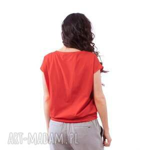 hand made bluzki bluzka z plakatem