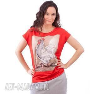 Manifesto Art czerwone bluzki bluzka z plakatem