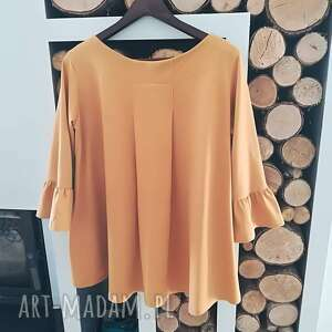 atrakcyjne bluzki bluzka oversize z wachlarzem