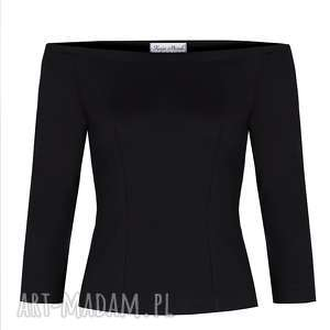 czarna bluzki bluzka hiszpanka