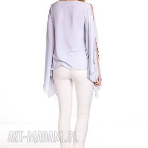 bluzki bluzka aleksandra - szara