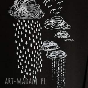 wyjątkowe bluzki bluzka deszczyk oversize bawełniana