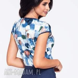 bluzki w kwiaty elegancka, kolorowa bluzka w