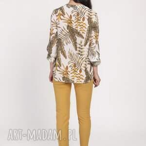 unikalne bluzki kobieca elegancka szyfonowa bluzka, blu142