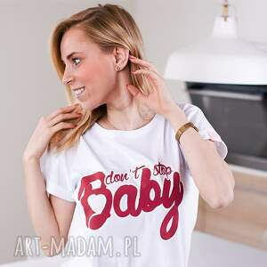 różowe bluzki koszulka fajna biała bluzka