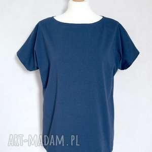 handmade bluzki bluzka gładka koszulka bawełniana oversize