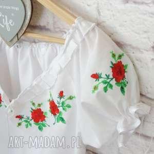 bluzki bluzka-góralska haftowana bluzka góralska z bufkami