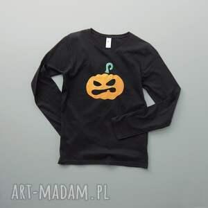 wyjątkowe bluzki długi halloween: metallic pumpkin bluzka