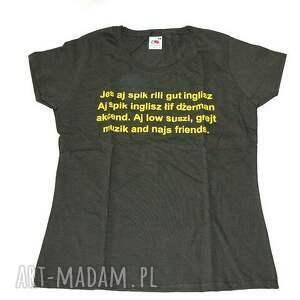 intrygujące bluzki shirt jes aj spik