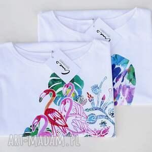bluza bluzki jesienna bluzka bawełniana biała