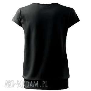 FreeFroo bluzki: Komfortowa bawełniana bluzka malowana - Ręcznie wykonane