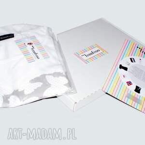 bluzki: Komfortowa bawełniana bluzka malowana - Ręcznie wykonane koszulka
