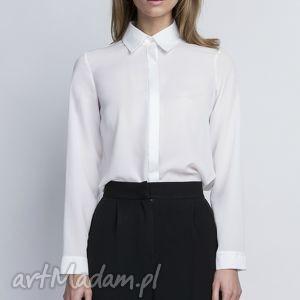 intrygujące bluzki koszula, k101 ecru