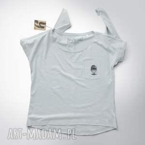 bluzki dekolt mini sowa pójdźka bluzka