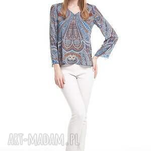 brązowe bluzki bluzka dżala